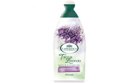 Bath and Shower Gel Talco e Lavanda L'Angelica