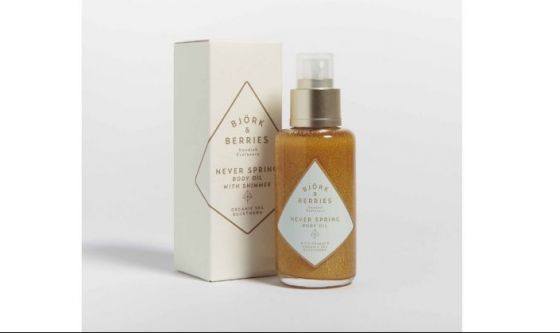 Shimmering Body Oil Bjork and Berries