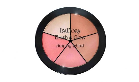 Blush and Glow Draping Wheel Isadora