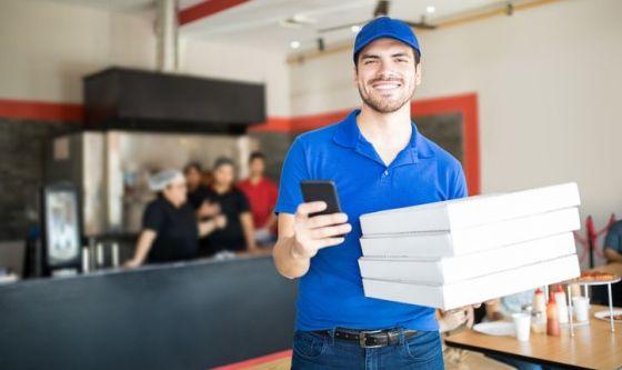Pizza: cibo d'asporto per eccellenza