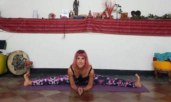 Uno yoga per gambe più lunghe e scattanti