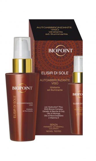 Biopoint Solaire Elisir di sole autoabbronzante viso
