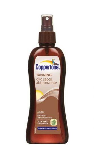Olio secco abbronzante Coppertone