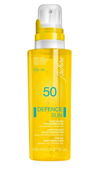 Olio solare Spf  50 Defence Sun Bionike