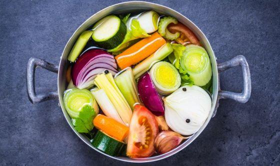 Le verdure da mettere nel minestrone