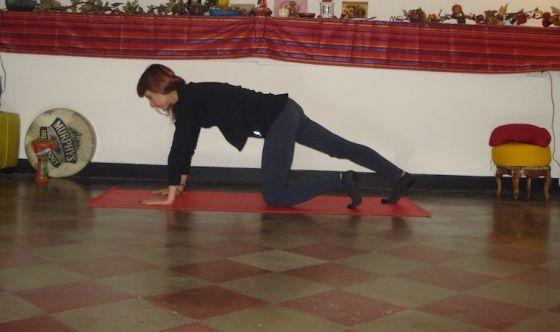 Addominali, gambe e glutei allenati col Pilates