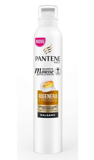 Balsamo in mousse Sotto la doccia Rigenera Protegge Pantene