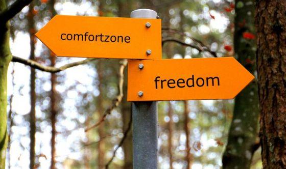Permette di uscire dalla comfort zone