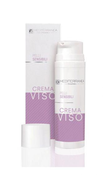 Crema viso pelli sensibili Mediterranea