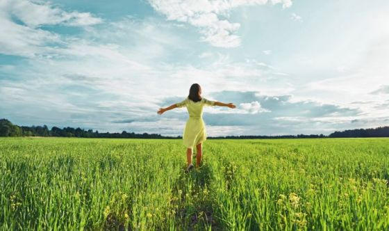 Fare una passeggiata nel verde