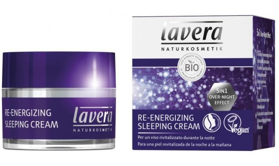 Re-energizing Sleeping cream Lavera