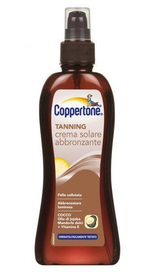 Crema solare abbronzante Coppertone