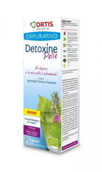 Detoxine Pelle Ortis Laboratoires