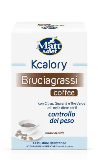 Kcalory Bruciagrassi Coffee Matt