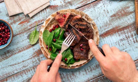 Carne rossa lavorata con parsimonia