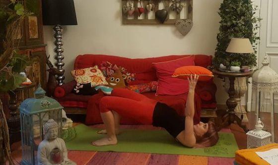 Il cuscino per coinvolgere le braccia