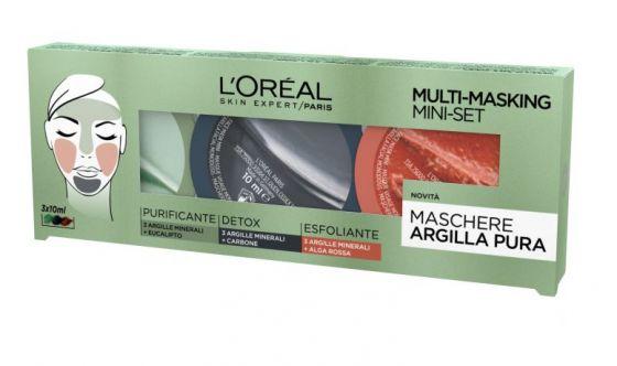 Multi Masking Mini Set Argilla Pura L'Oréal Paris