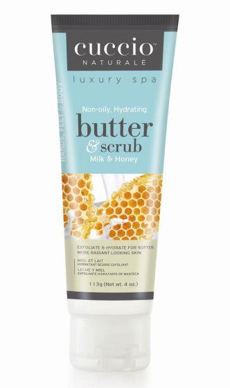 Butter Scrub Latte miele Cuccio Naturale