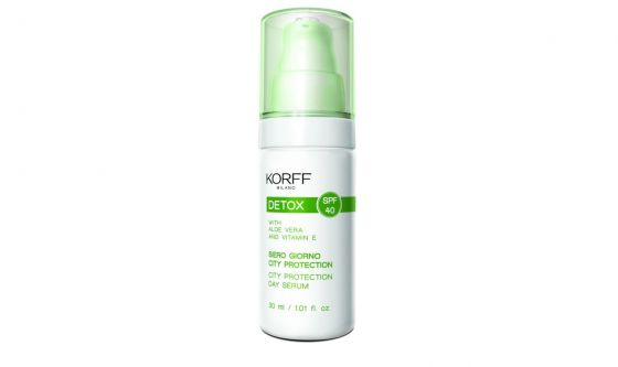 Siero giorno City Protection Spf40 Korff
