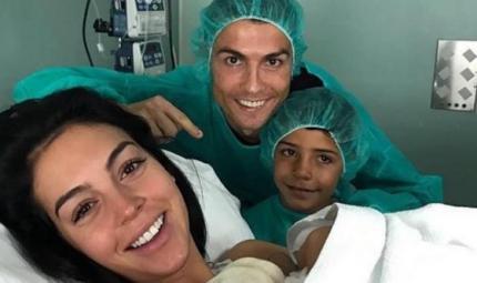 Cristiano Ronaldo di nuovo papà