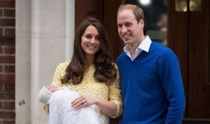 È nata la principessa Charlotte Elizabeth Diana