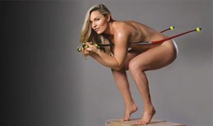 Lindsey Vonn: sì al make up sulle piste da sci