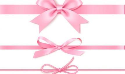 Tripudio di fiocchi rosa