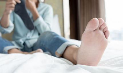 Ho sempre i piedi sudati: come mai?