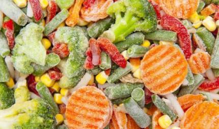 Verdure surgelate per una dieta equilibrata tutto l'anno