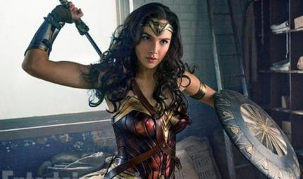 Il look di Wonder Woman