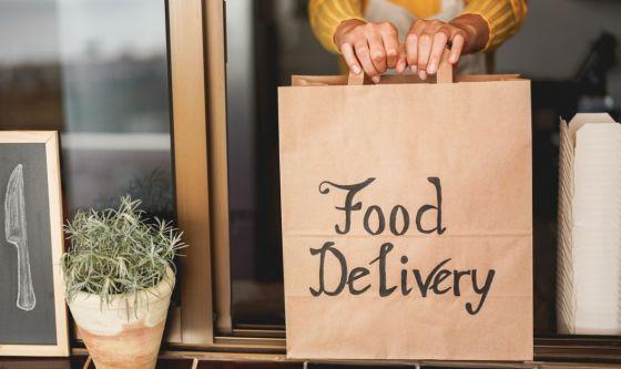 Il delivery  conquista il cuore degli italiani