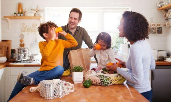 Dieta salutare: il miglior regalo per i figli