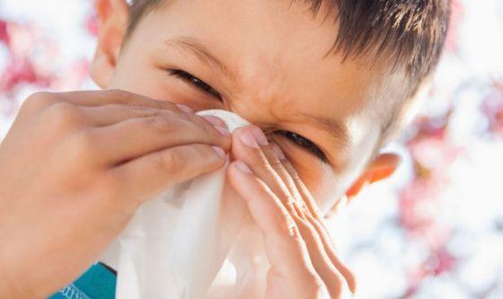 Tra i più piccoli è allarme allergie
