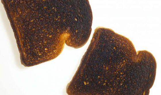 I cibi bruciacchiati aumentano il rischio di tumori