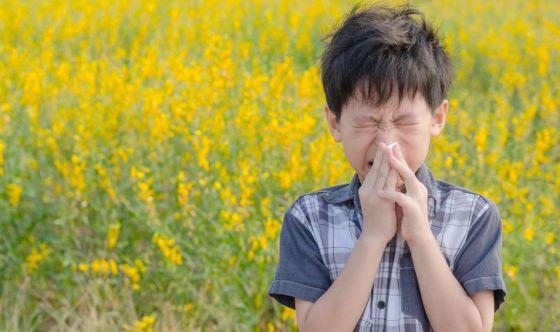 Primavera: allergie e bronchiti, come proteggere i bambini