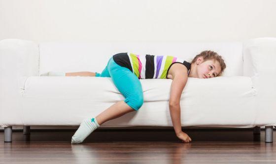 Quarantena: tutti più sedentari, dai nonni ai bambini