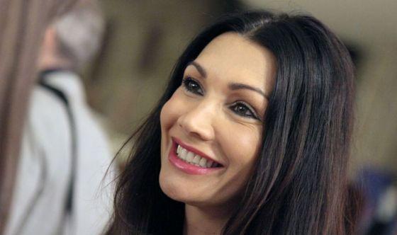 Luisa Corna come Forrest Gump