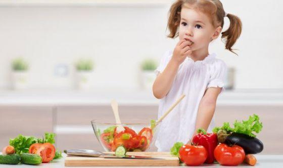 Bimbi: così imparano a mangiare le verdure (divertendosi)