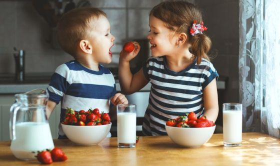 Imparare l'educazione alimentare dall'infanzia