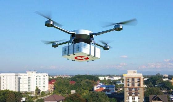 Negli USA gli organi per i trapianti arrivano... col drone