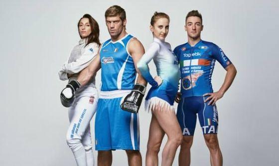 Quattro atleti olimpici a sostegno dei malati di leucemia