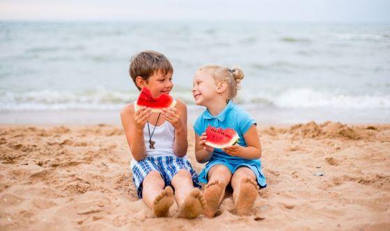 Bimbi: 10 parole chiave della dieta delle vacanze