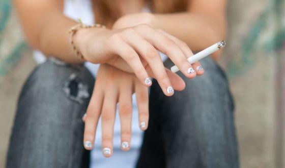 Allarme tabagismo tra i giovani under 18