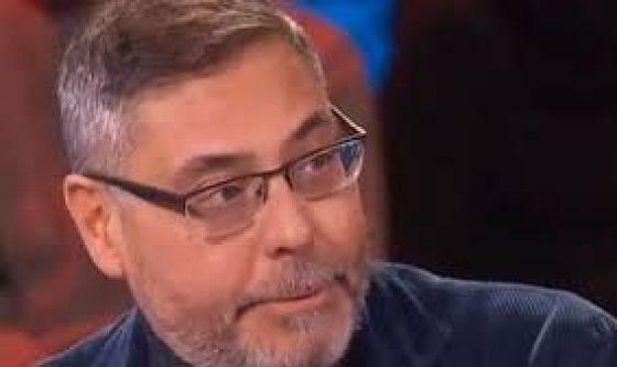Andrea Vianello senza parole dopo l'ictus