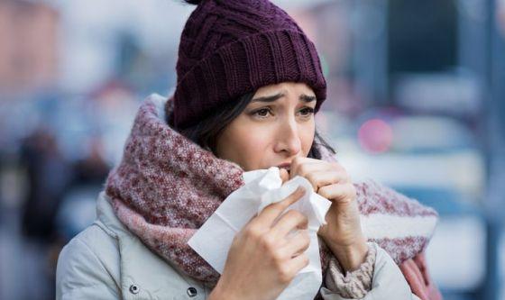Influenza: picco a Capodanno