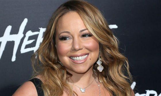 L'influenza ha mandato in ospedale Mariah Carey