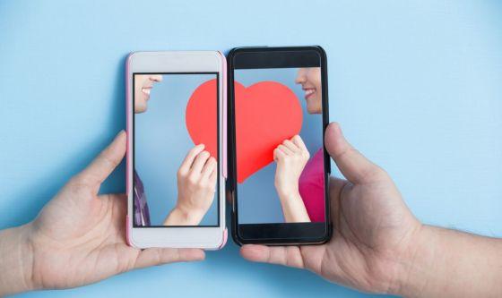 Innamorarsi a distanza e online