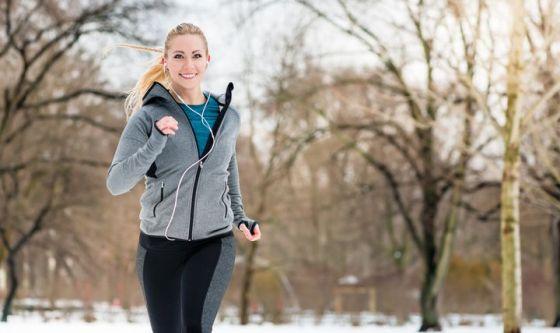 Sport fuori d'inverno? Proteggi pelle e capelli