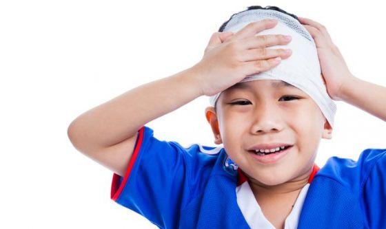 Traumi cranici nell'infanzia portano a problemi sociali