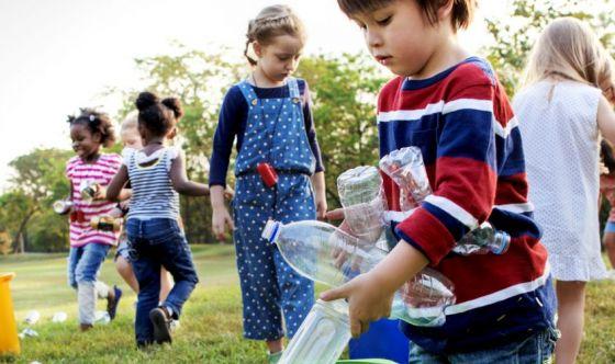 Bambini, il riciclo si impara sin da piccoli